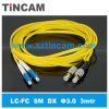 FC aan LC Sm Fiber Optical Patch Cord
