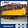 3 차축 반 40 톤 후방 덤프 트럭 트레일러