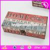 Оптовые дешевые квадратные деревянные коробки для сбывания W18A014