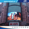 Curved esterno LED Screen Advertizing per Market