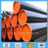 ASTM A53 GR. Tubo de acero inconsútil laminado en caliente de carbón de B Od13.7 Sch40