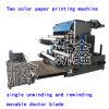 Machine 2 Couleur d'impression flexographique en ligne avec Film Machine de soufflage