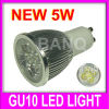 Hotsales GU10 5W High PowerのエネルギーセービングLED Spotlight