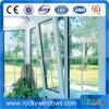 Felsiges Neigung-Drehung-Fenster mit Deutschland-Befestigungsteilen und doppeltem glasig-glänzendem Glas