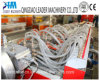 Le Decking en plastique en bois de PVC WPC profile l'usine d'extrusion
