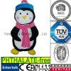 Peluche molle de la CE avec le pingouin de jouet de peluche d'écharpe de chapeau