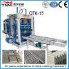 Bloco 2015 inteiramente automático da maquinaria Qt10-15 que faz a linha da máquina para a venda