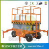 table élévatrice électrique hydraulique de ciseaux de 12m à vendre