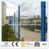 최신 판매 PVC는 용접한 직류 전기를 통한 철 철사 메시 담을 입혔다