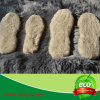 A pele genuína natural durável dos carneiros calç os Insoles feitos em China
