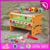2015 Fashion novo DIY Educational Tool Toys, Colorful Wooden Toolbox Toy para Kids, Hot Sale Wooden Tool Toy para Children W03D055