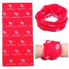 Bandana promotionnel adapté aux besoins du client de tube de cou de polyester imprimé par logo