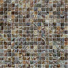 Sqaureパターンの虹色の淡水の貝の網の接合箇所のモザイク・タイル、浴室のモザイク・タイル(BFW-HC-SQ15)
