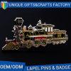 최신 판매를 위한 가장 새로운 Choo 트레인 접어젖힌 옷깃 Pin