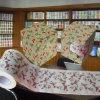 El tejido de tocador BRITÁNICO imprimió el rodillo del retrete de la novedad de la toalla de papel