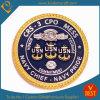 Moneta principale di sfida del blu marino su ordinazione all'ingrosso per il regalo