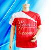 T-shirt 100% d'impression de la sublimation de l'homme de polyester