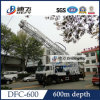 Water WellのためのDfc-600 600m Truck Mounted Drilling Rig