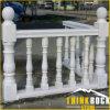 Pasamano y balaustre de mármol blancos de la escalera de la alta calidad