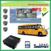 Ecuador Bestseller 4CH Double SD Card 32GB 64GB 128GB GPS Bus Car Mobile DVR with Overspeed Alarm (SDM608-1)