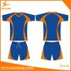Camice su ordinazione di gioco del calcio del pullover del randello di calcio di sublimazione di Healong