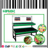 Metall 2 Tiers Fruit und Vegetable Display Stand