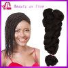 Trança sintética macia do volume do cabelo, cabelo da X-Pressão, fibra usada de Kanekalon