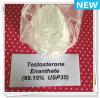 99.15% Порошок испытания точки плавления ый/стероидный тестостерона Enanthate (испытание e)
