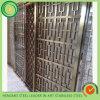 Aço inoxidável de dobramento de divisor de quarto da tela do edifício da construção para o projeto de trabalho do metal de Dubai