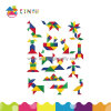 Tangram plástico Puzzle Toy para Education (K008)