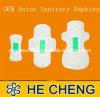 Senhora ultra fina nova guardanapo sanitários do aníon 2013