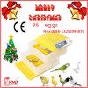 Incubateur approuvé d'oeufs de la CE petit utilisable pour le famille (YZ-96A)