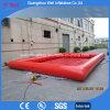 Barco de paleta inflable de la piscina de la piscina de agua roja