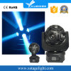 Xlighing 12PCS*15W que gira luz principal movente do disco do futebol do diodo emissor de luz de RGBW