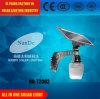 (ND-T2002) 12 watts de batterie au lithium toute dans une qualité solaire IP65 de réverbère avec le certificat de la CE