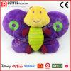 Brinquedo bonito do bebê da borboleta do animal enchido