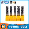 4 Flöte-festes Hartmetall-Enden-Tausendstel für metallschneidendes