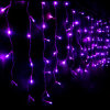 Luzes ao ar livre do sincelo do Natal da decoração 110V do feriado do festival do diodo emissor de luz