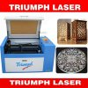 Mini prezzo della tagliatrice del laser di piccolo del laser della taglierina trionfo da tavolino della macchina