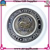 La pièce de monnaie d'enjeu de qualité avec la couleur de son 2 a terminé pour la pièce de monnaie militaire