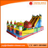 Terrain de jeu extérieur Giant gonflable Bouncy Castle for Kids Toy (T6-032)