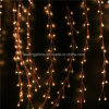 Indicatori luminosi leggiadramente della mini delle lampade LED del collegare di rame 20 LED stringa a pile bianca calda del petardo