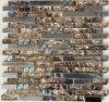 Стеклянное смешивание Horzion мозаики с металлом Jy21k