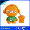 형식 선물 USB2.0 음악 모양 기억 장치 지팡이