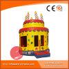 La gioia Deign Bouncers belli gonfiabili della torta di compleanno (T1-211)