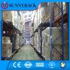 Racking elevado do armazenamento da prateleira do metal da utilização do espaço do armazém