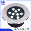 Al aire libre IP68 Aluminio Solar Mini LED Underground Light