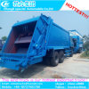 Dongfeng 4X2 10cbm는 쓰레기 압축 분쇄기 트럭을 사절했다