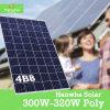 Principal chinois panneau solaire de Hanwha de 3 fournisseurs de picovolte avec le bon prix