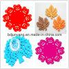 Coaster Handmade de feltro dos testes padrões elegantes